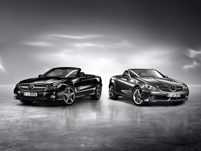 Кабриолеты Mercedes