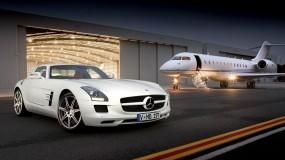 Обои Mercedes: Mercedes, Самолёт, Mercedes