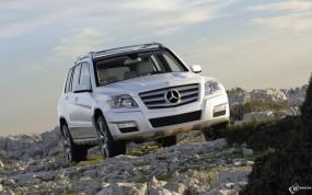 Обои Mercedes-Benz GLK: Mercedes GLK, Mercedes