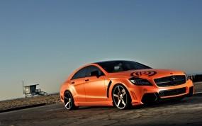 Обои тюнинг мерседес: Mercedes, Тюнинг, Оранжевый, Mercedes