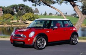 Обои Mini Cooper red: Mini Cooper, Mini
