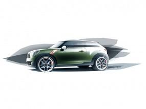Обои 2010 Mini Paceman Concept: Машина, Mini Cooper, Mini, Mini