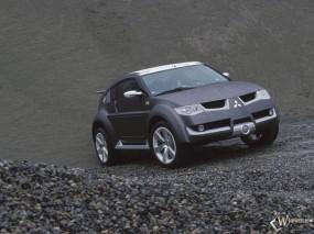 Обои Mitsubishi Pajero Evolution: Mitsubishi Pajero, Mitsubishi
