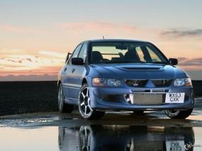 Обои Mitsubishi Lancer Evo: Mitsubishi Lancer Evolution, Mitsubishi