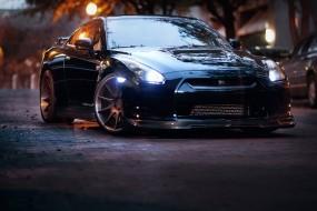 Обои GTR TUNING: Nissan GT-R, Tuning, Nissan