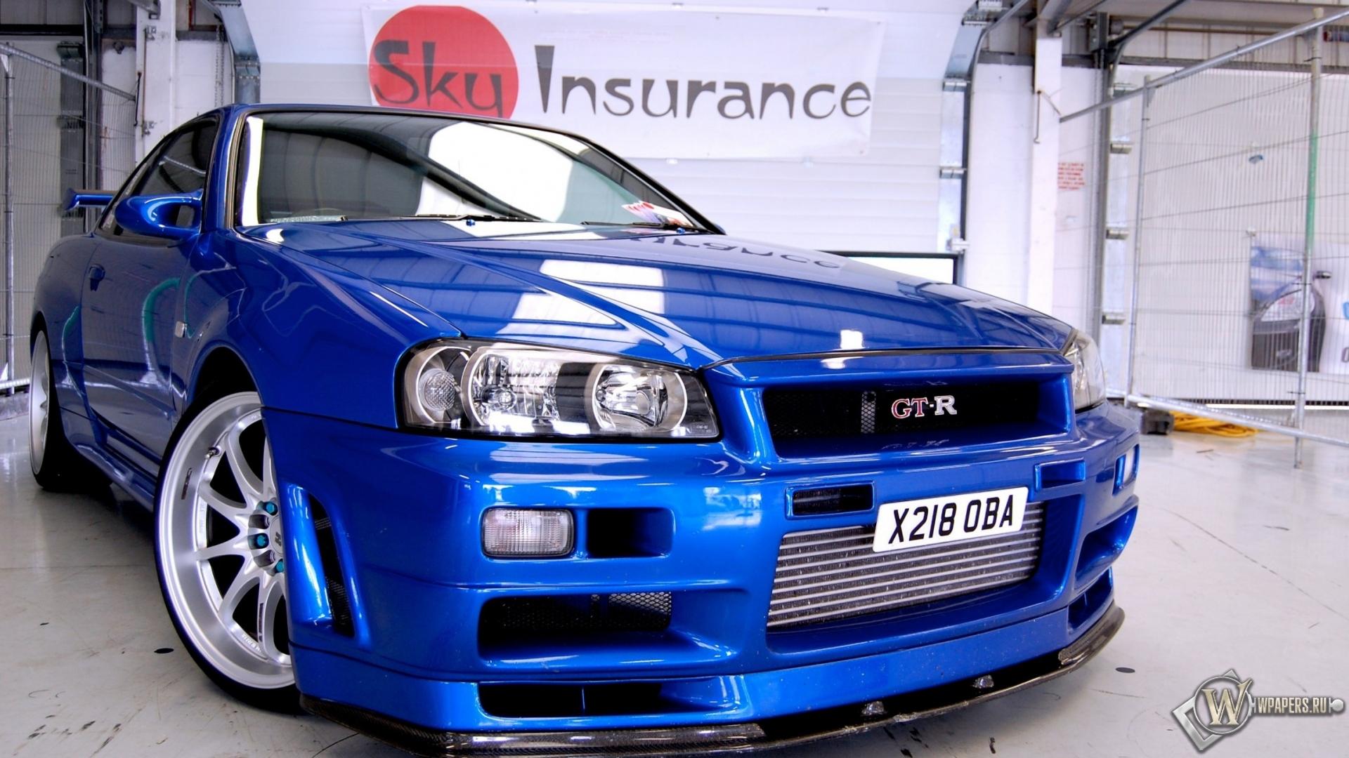 Nissan skyline картинки 8