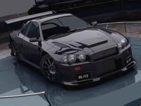 Обои Nissan Skyline R34 GT-R: Nissan Skyline, Nissan