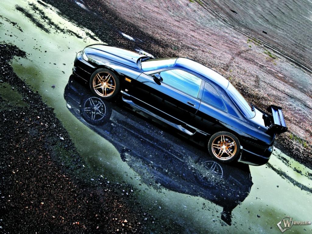 Nissan Skyline R33 1024x768