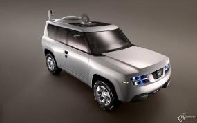 Обои Nissan Terranaut Concept: Nissan Terranaut, Nissan