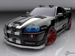 Обои Nissan Skyline GT-R: , Nissan