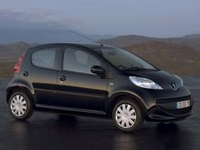 Обои Peugeot 107 hatchback: Peugeot 107, Peugeot