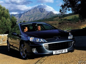 Обои Peugeot 407: Peugeot 407, Peugeot