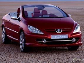 Обои Пежо 307 СС: Кабриолет, Peugeot 307, Peugeot
