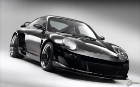 Обои Черный Порш: Porsche Cayman, Porsche