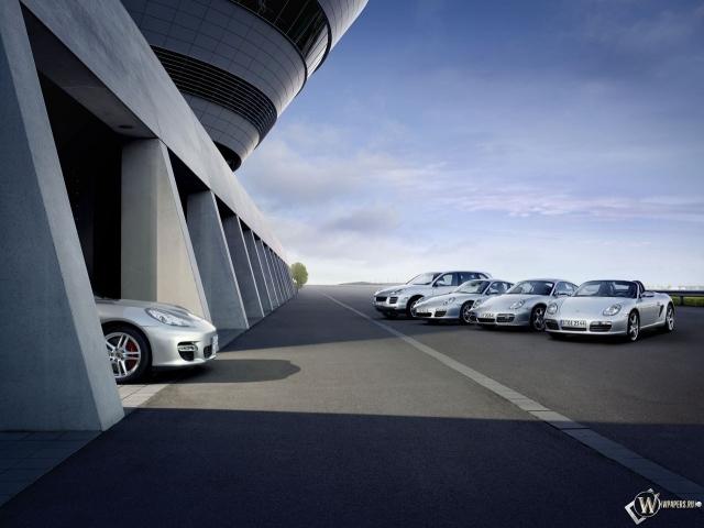Модельный ряд Porsche