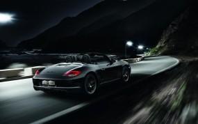Обои порш кабриолет: Кабриолет, Ночь, Порше, Porsche