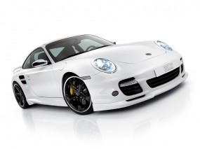 Белый Porsche