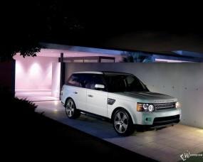 Обои 2010 Range Rover Sport Side View: Range Rover Sport, Range Rover