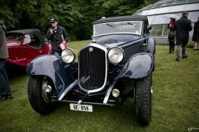 Обои Alfa Romeo 8C 2300 Cabriolet Stabilimenti Farina (1934): Alfa Romeo, Ретро автомобили