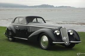 Обои Alfa Romeo 8C 2900B (1938): Alfa Romeo, Ретро автомобили