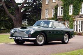 Обои Aston Martin DB4 (1958): Aston Martin, Ретро автомобили