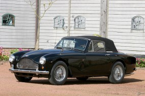 Обои Aston Martin DB Mark III (1957): Aston Martin, Ретро автомобили