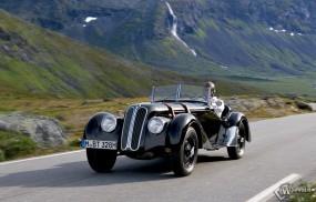 Обои BMW 328 (1936): Кабриолет, BMW 328, Ретро автомобили