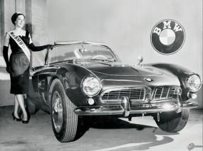 Обои BMW 507 (1956): Кабриолет, BMW, Ретро автомобили