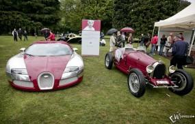 Обои Bugatti Type 35 (1924): Bugatti Veyron, Ретро автомобили