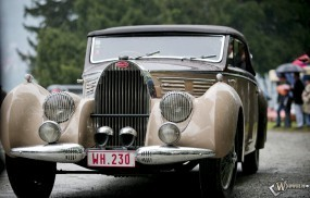 Обои Bugatti Type 57C Aravis (1939): Bugatti, Ретро автомобили