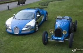 Обои Bugatti Veyron Centenaire (2009): Bugatti Veyron, Ретро автомобили