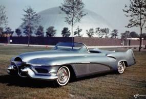 Обои Buick Lesabre (1951): Кабриолет, Buick, Ретро автомобили