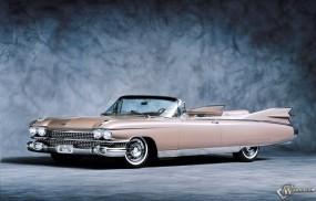 Обои Cadillac Eldorado (1959): Кабриолет, Cadillac Eldorado, Ретро автомобили