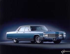 Обои Cadillac Fleetwood (1965): Cadillac, Ретро автомобили