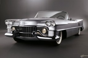 Обои Cadillac Le Mans (1953): Кабриолет, Cadillac, Ретро автомобили