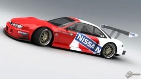 Обои Nissan 200 SX Time Attack.jpg: Nissan 200 SX, Спортивные автомобили
