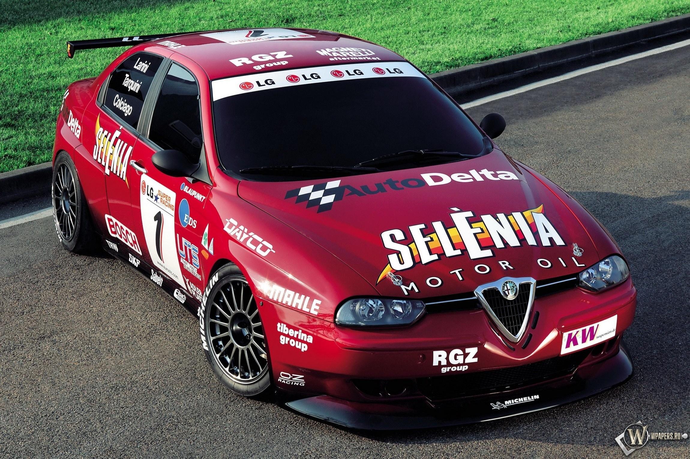 Спортивный седан Alfa Romeo 156 GTA FIA ETCC — карточка