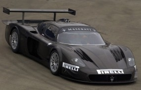 Обои Maserati MCC - Front Angle: Машина, Спорткар, Maserati, Автомобиль, Спортивные автомобили
