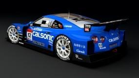 Обои Nissan GT-R: Синий, Тюнинг, Nissan GT-R, Nissan