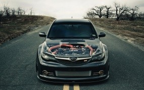 Обои Subaru-impresa-wrx-sti: Subaru Impreza, Мотор, Subaru