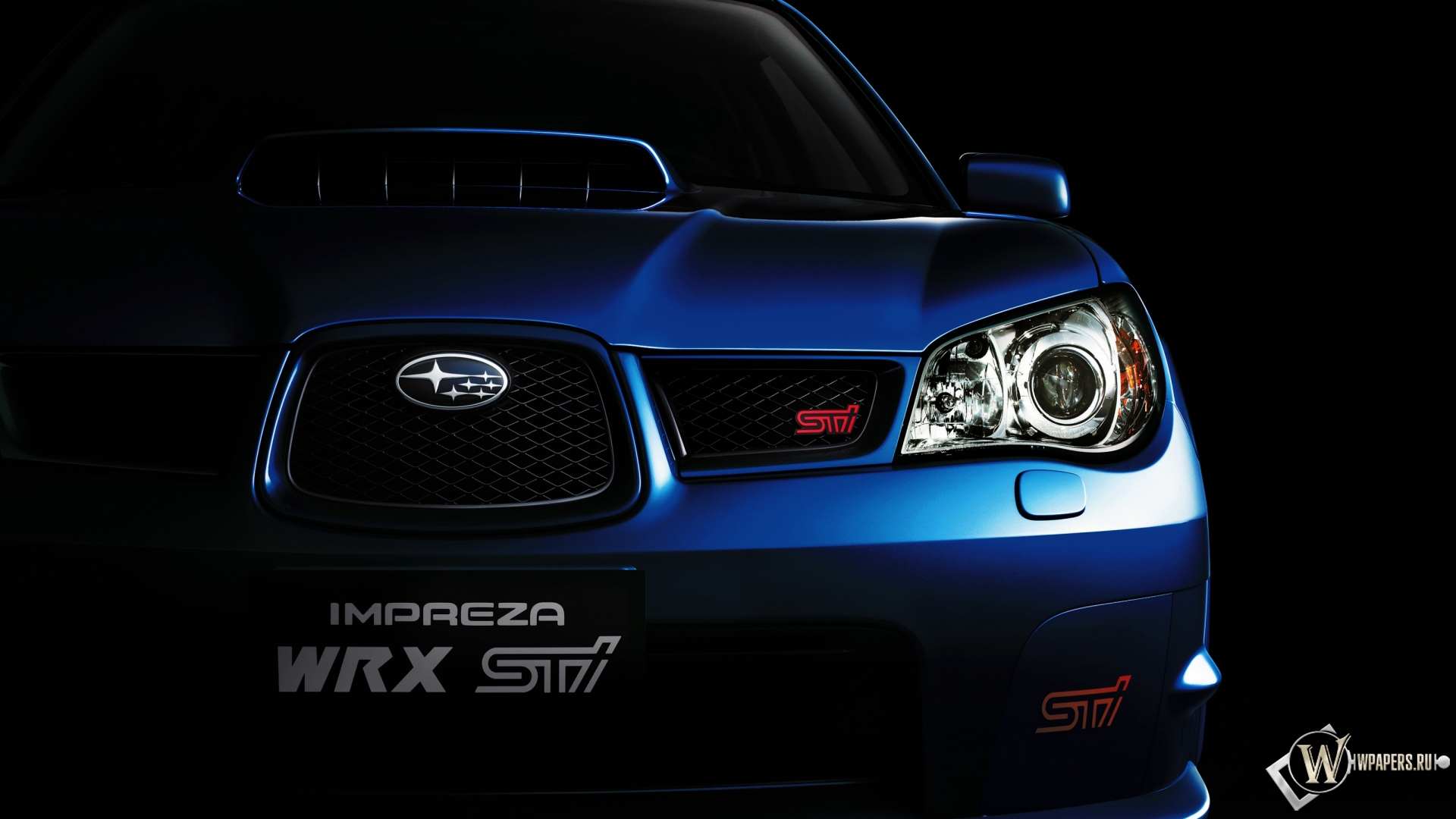 Subaru impreza wrx sti обои для рабочего стола 7