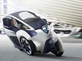 Обои Toyota i-Road: Концепт, Toyota, Ситикар, Toyota