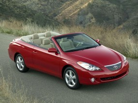 Обои Toyota Camry Solara Convertible: Кабриолет, Toyota Camry, Toyota