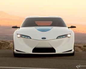 Обои Toyota FT-HS Concept 2009: Toyota FT-HS, Toyota