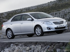 Обои Toyota Corolla sedan: Toyota Corolla, Toyota