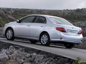 Обои Toyota Corolla: Toyota Corolla, Toyota
