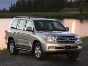 Обои Toyota Land Cruiser: Внедорожник, Озеро, Toyota Land Cruiser, Toyota