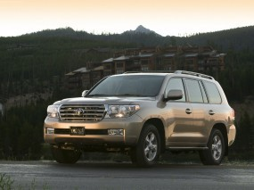 Обои Toyota Land Cruiser: Внедорожник, Toyota Land Cruiser, Toyota