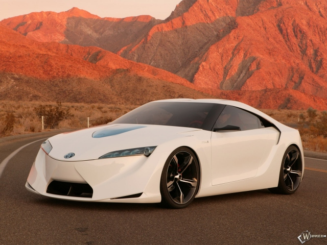 Toyota Supra FT-HS Hybrid Concept