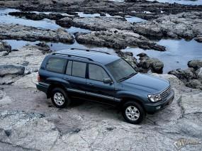 Обои Toyota Land Cruiser 100: Toyota Land Cruiser, Toyota